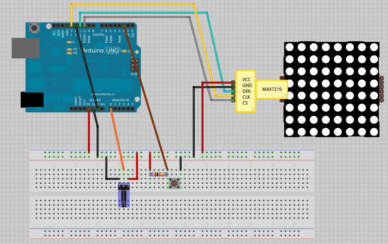 LED Matrix Strip