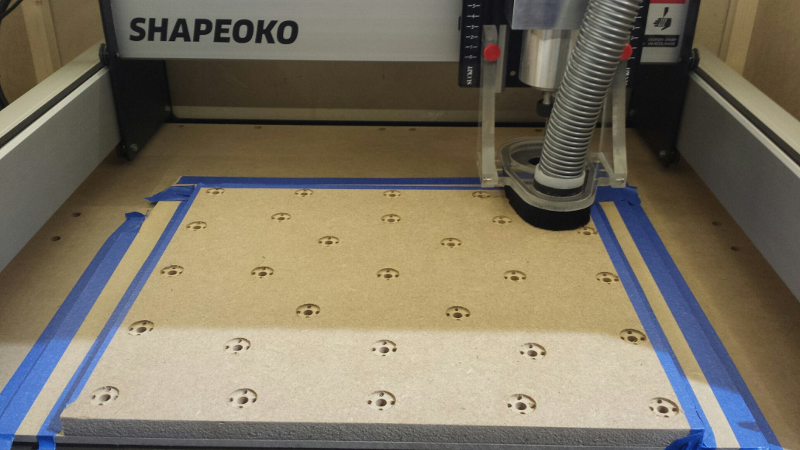 A journey with the Shapeoko3 CNC